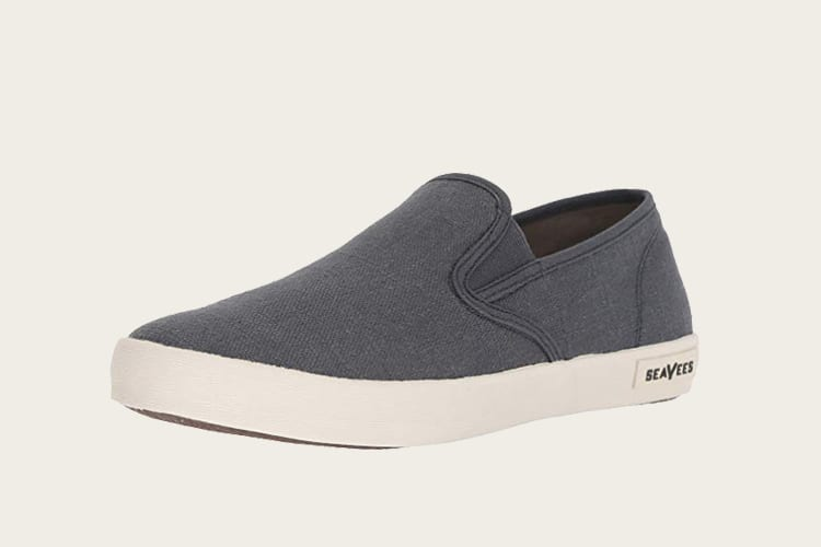 SeaVees Men's Baja Slip On Standard Casual Sneaker