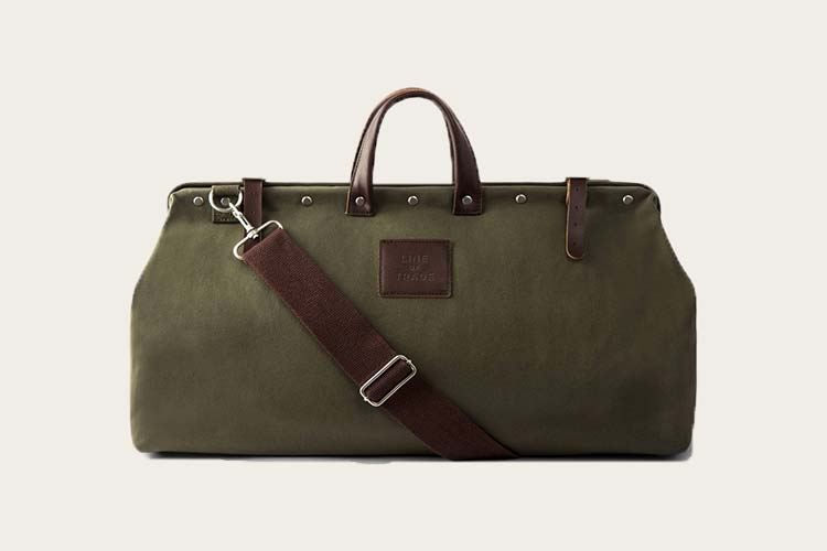 line of trade weekender bag