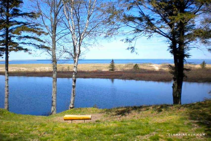 pictured rocks national lakeshore cabin