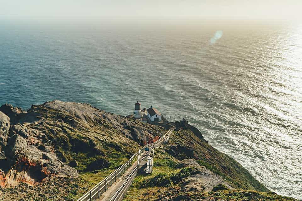 lighthouse hike point reyes