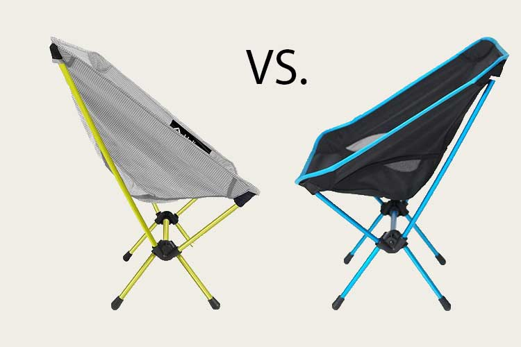helinox chair zero vs chair one
