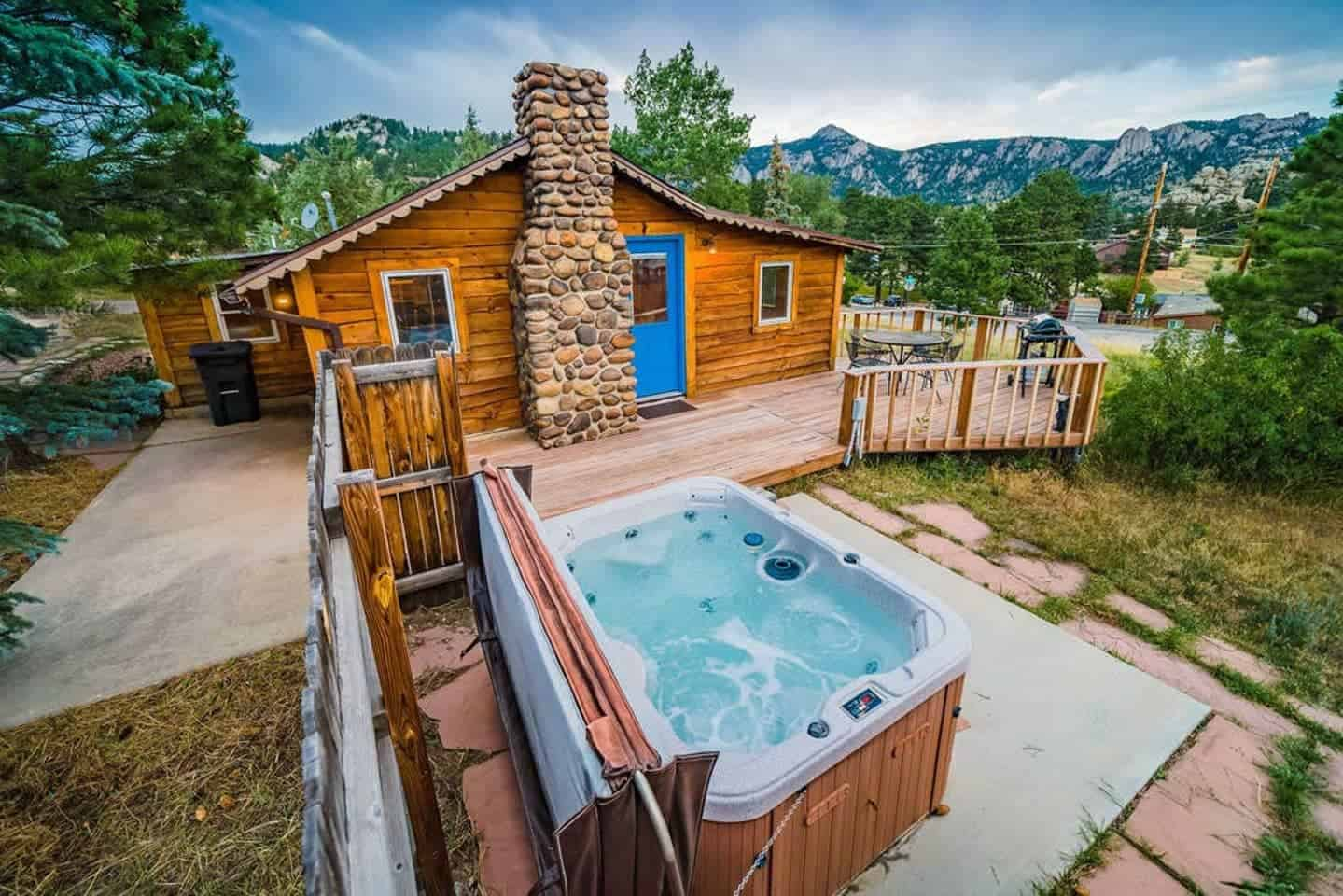 estes park airbnb cabin
