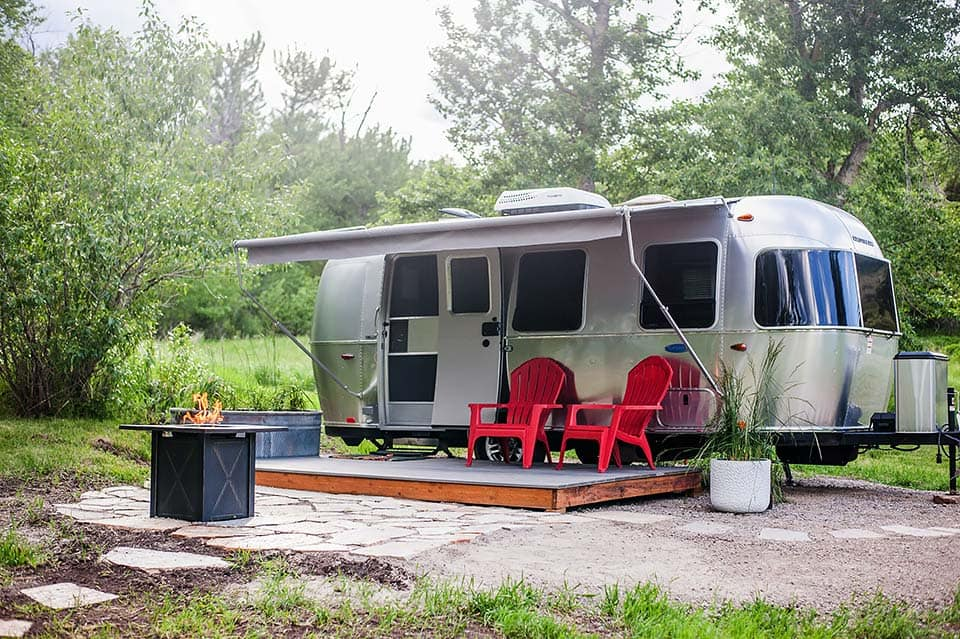 montana airstream airbnb