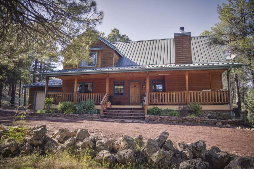 secluded cabin rental flagstaff az