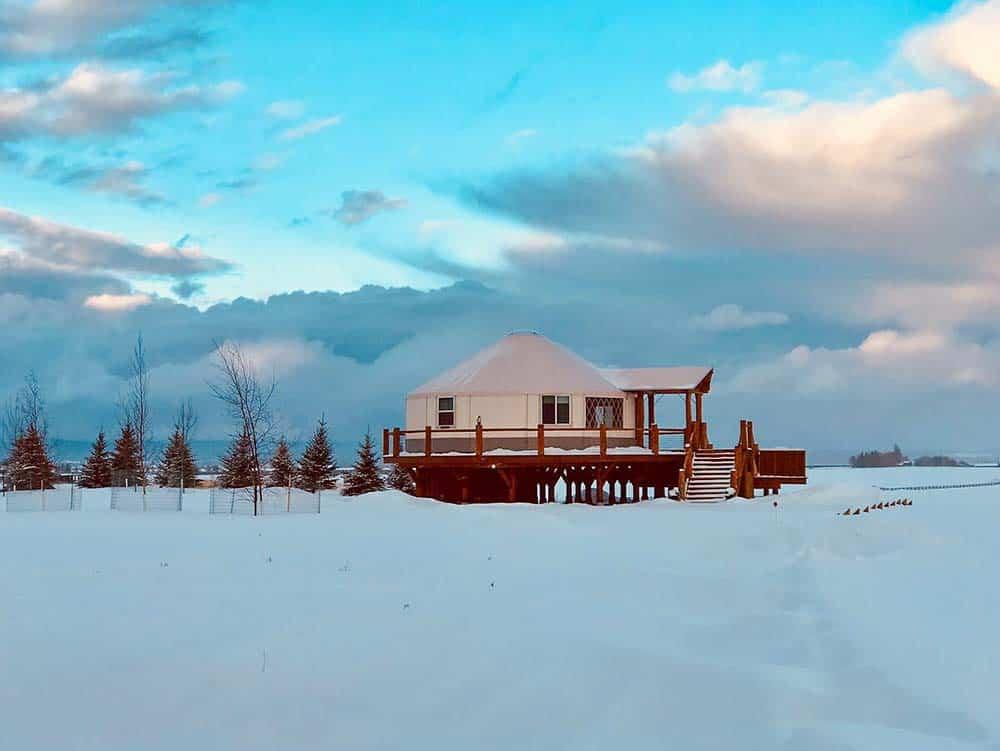 yurt airbnb montana
