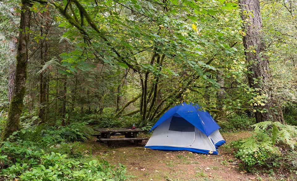 Oxbow Regional Park Camping