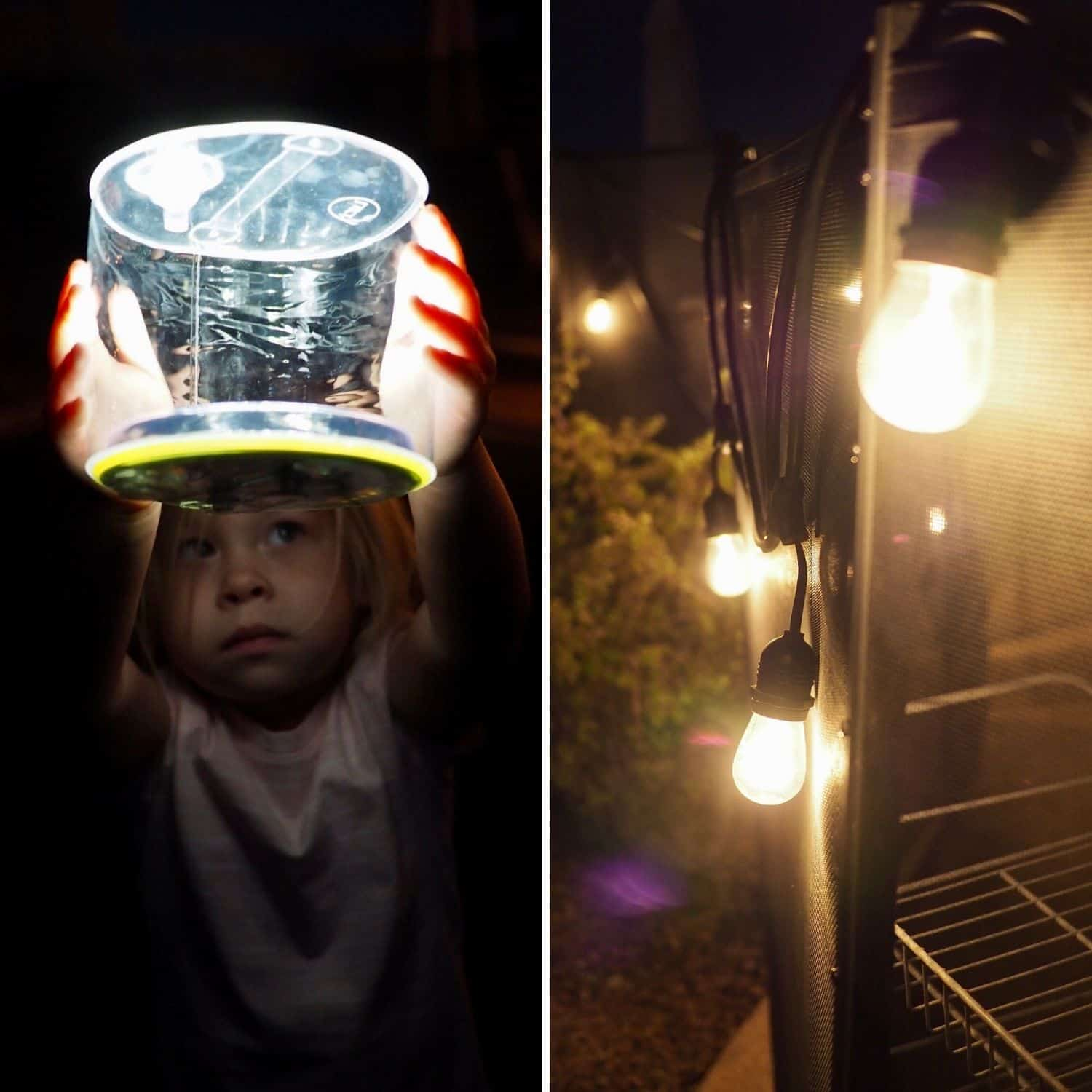 camping light options