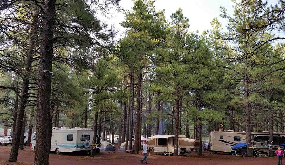fort tuthill camping flagstaff