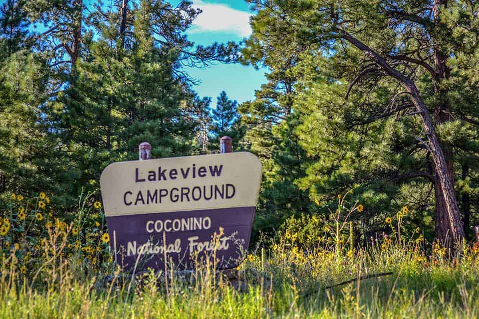 lakeview campground flagstaff