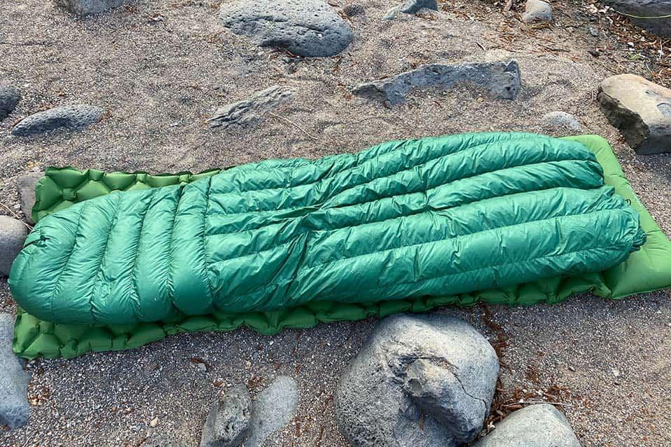 ugq bandit with sleeping pad