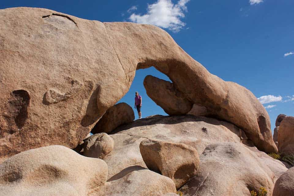 Arch Rock Joshua tree
