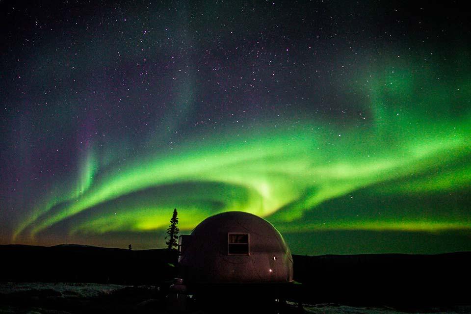 borealis igloo alaska
