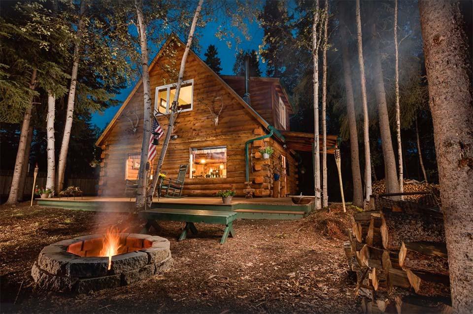 Moose Walk Cabin Alaska