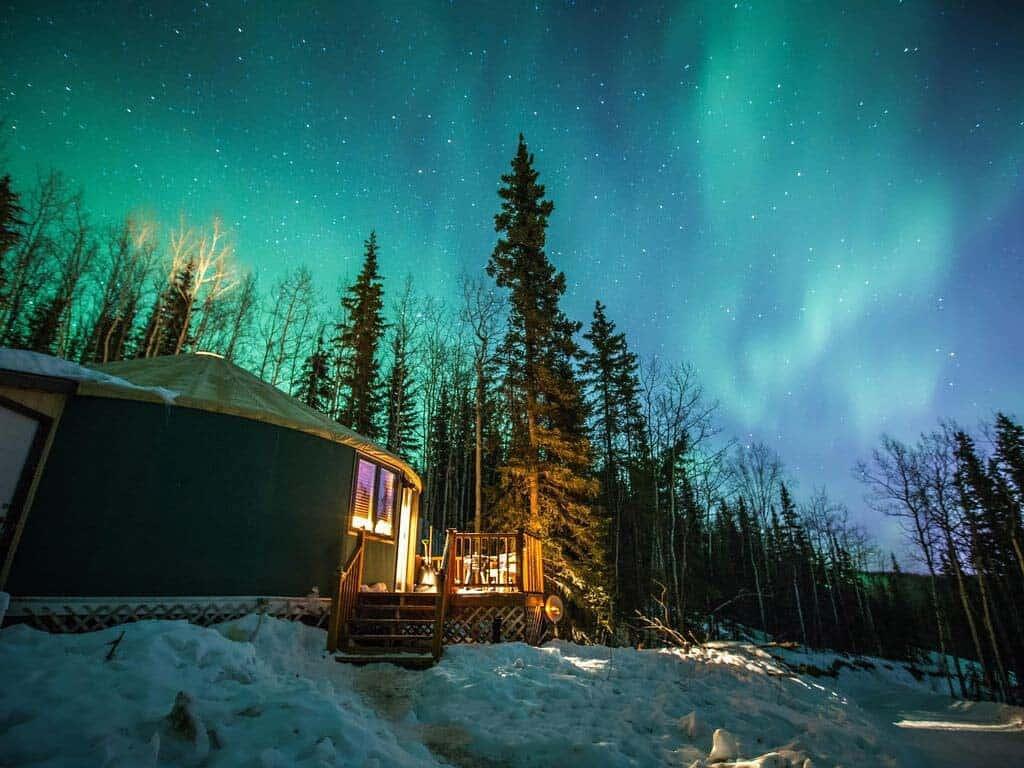 alaska yurt airbnb
