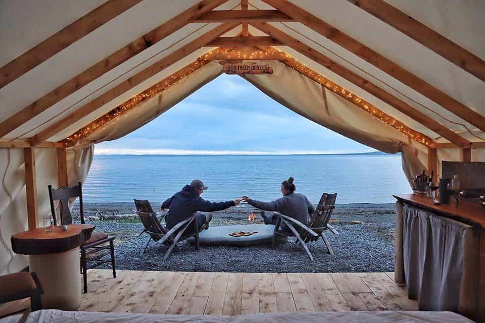 between beaches alaska