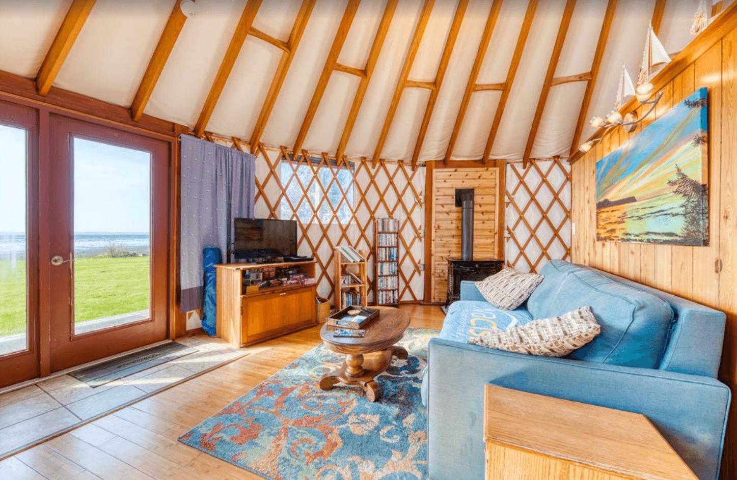 yurt on the bay oregon