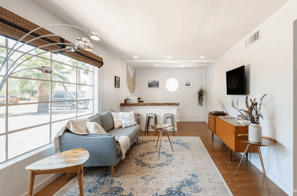 Bohemian Midcentury Home