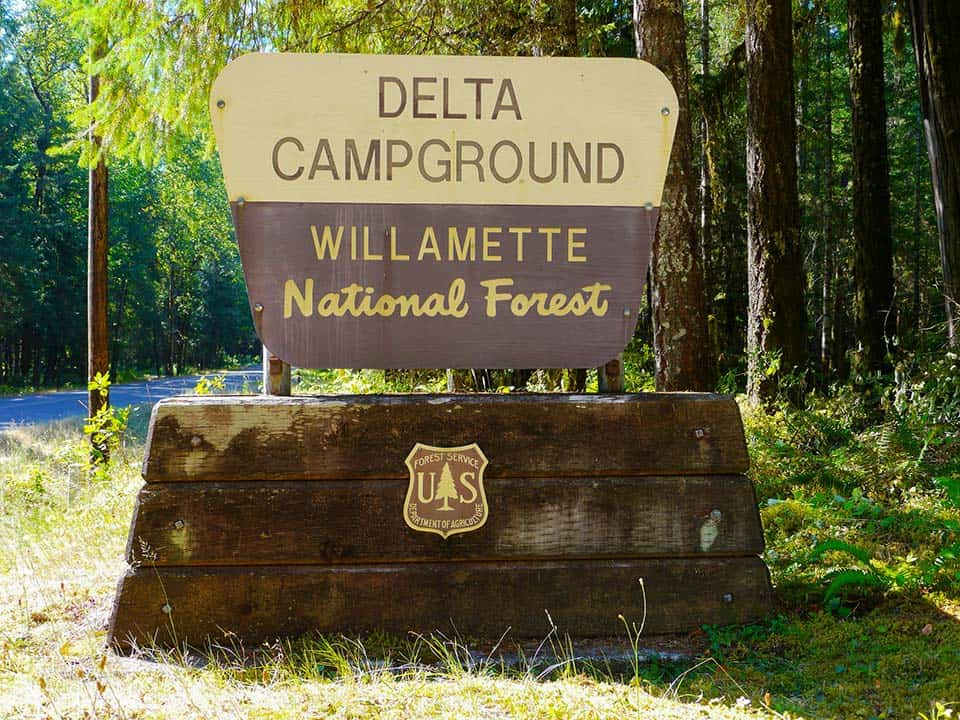 Delta Campground Eugene