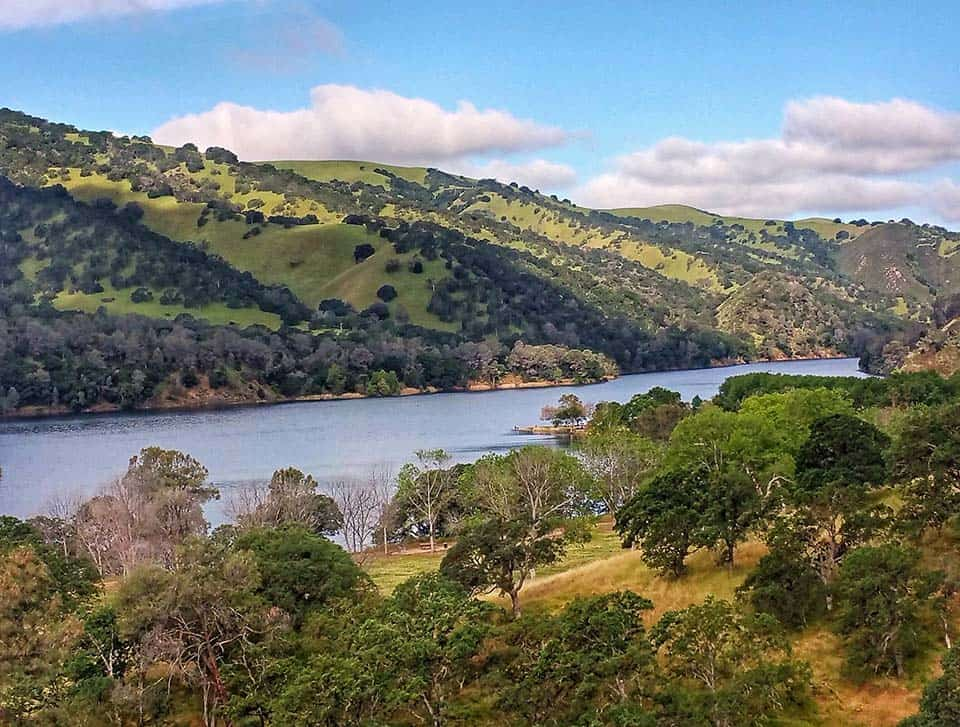 Lake Del Valle camping