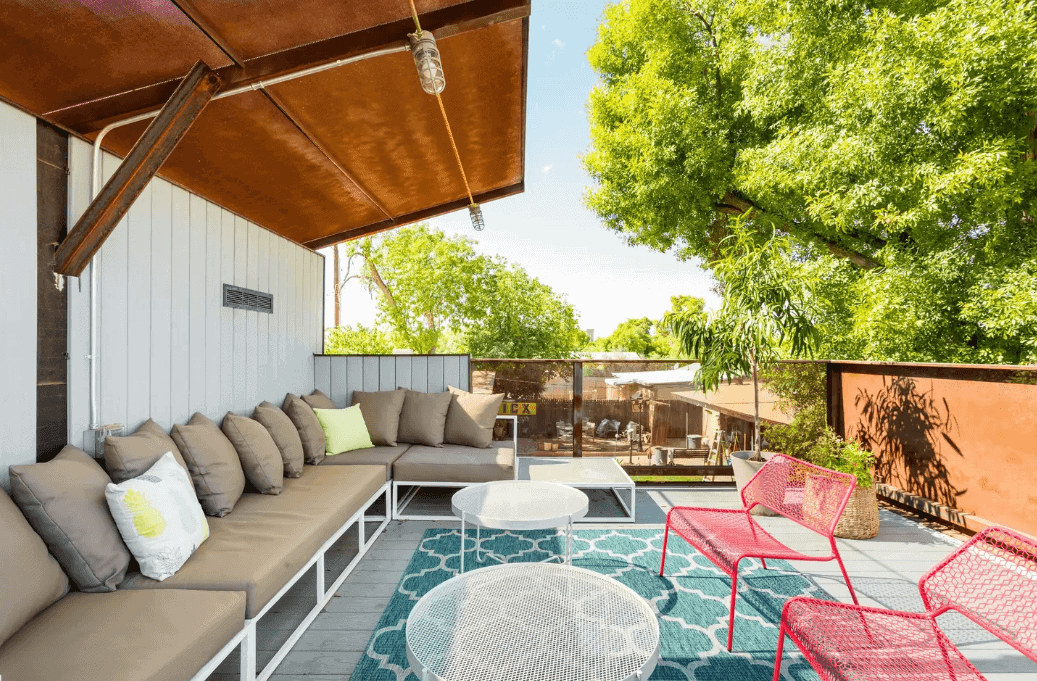 Midtown Guest Home with Rooftop Deck