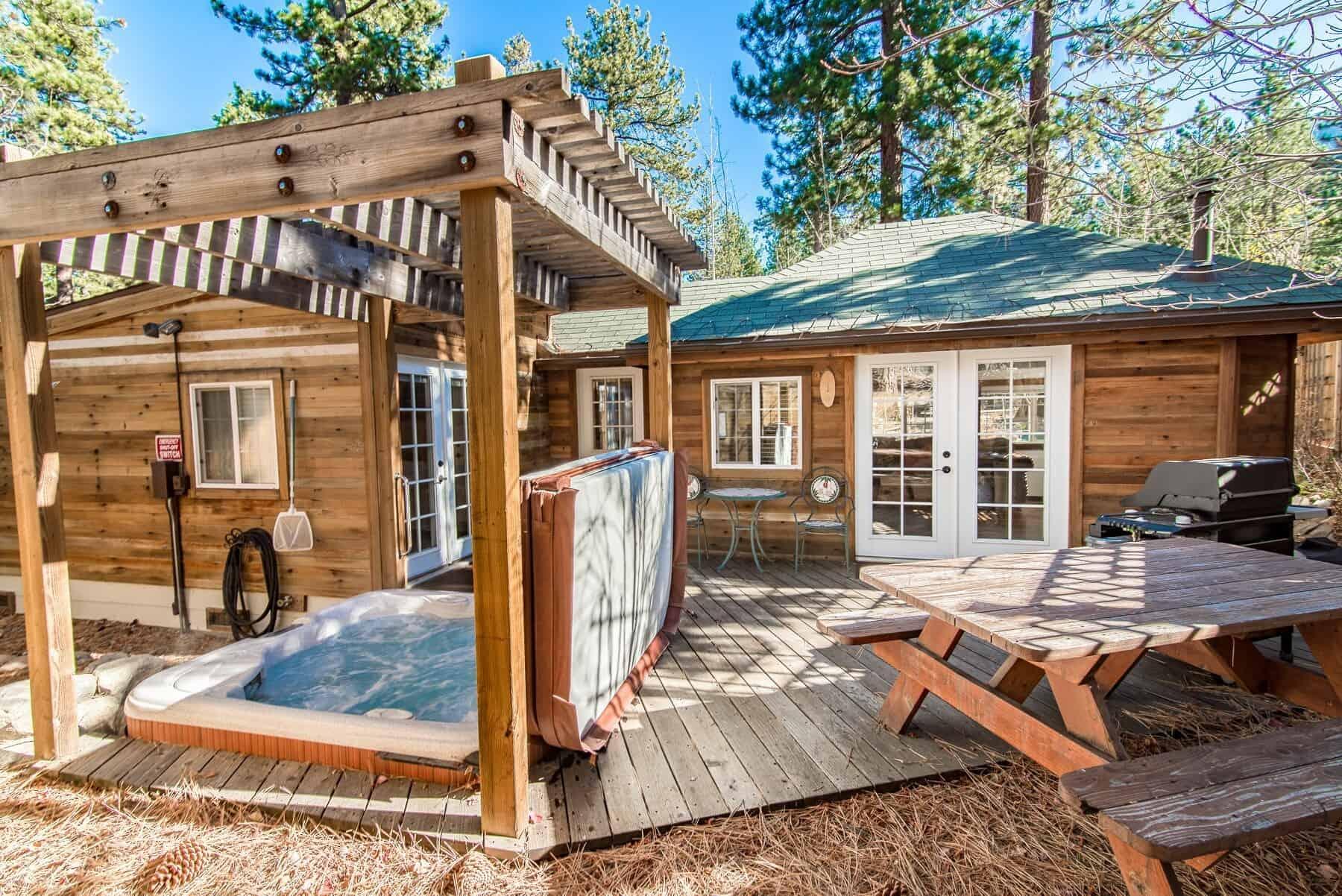 Wooden Lake Tahoe House