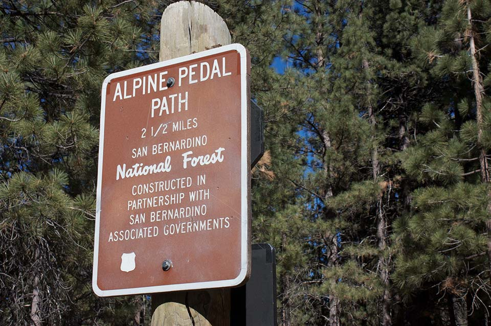 alpine pedal path