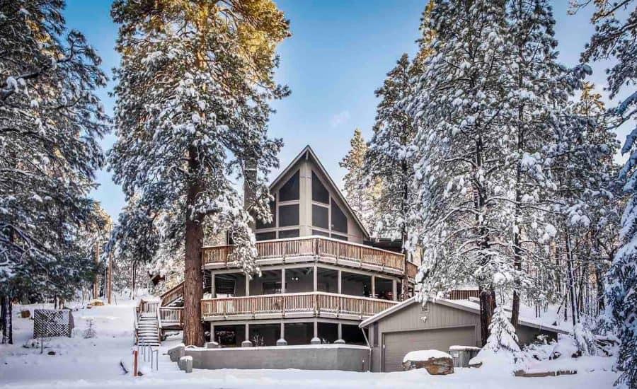 best cabin rentals munds park az