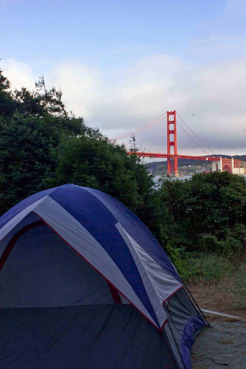 kirby cove camping