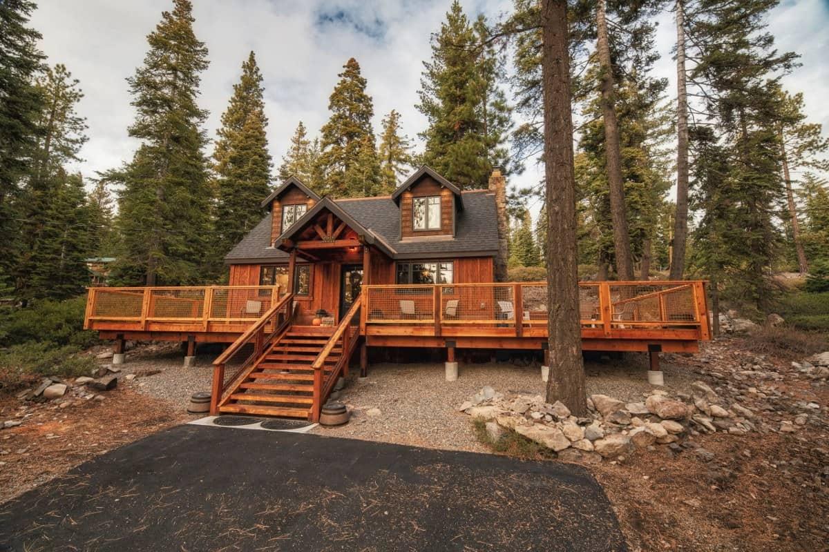 luxury smart cabin lake tahoe