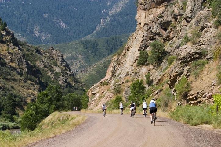 mountain bike waterton canyon trail