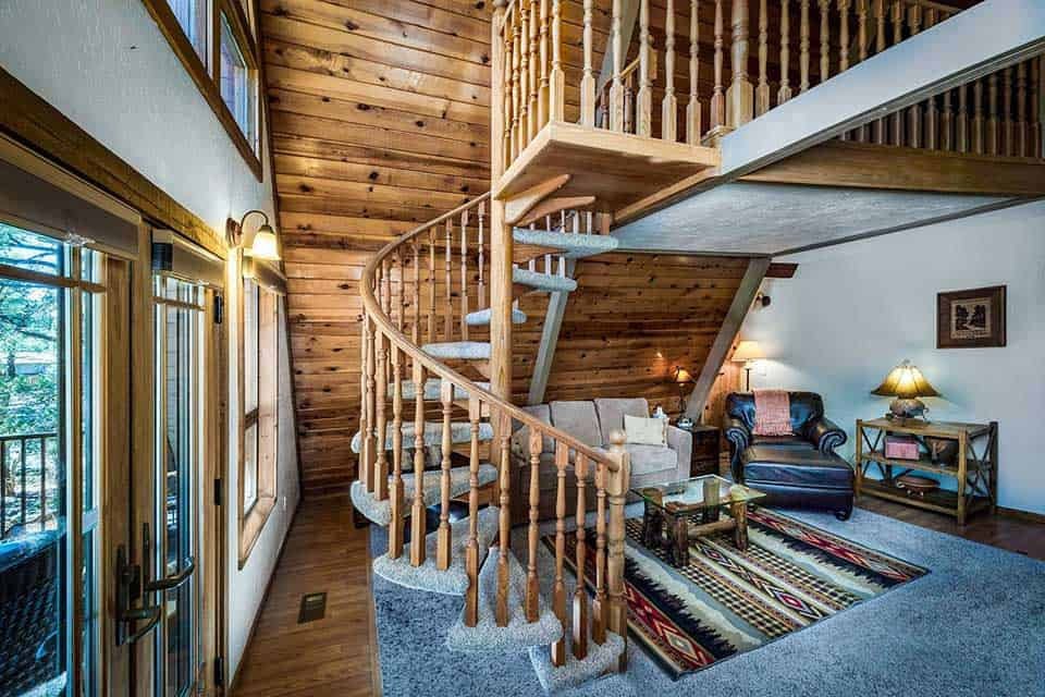 pet friendly cabin munds park