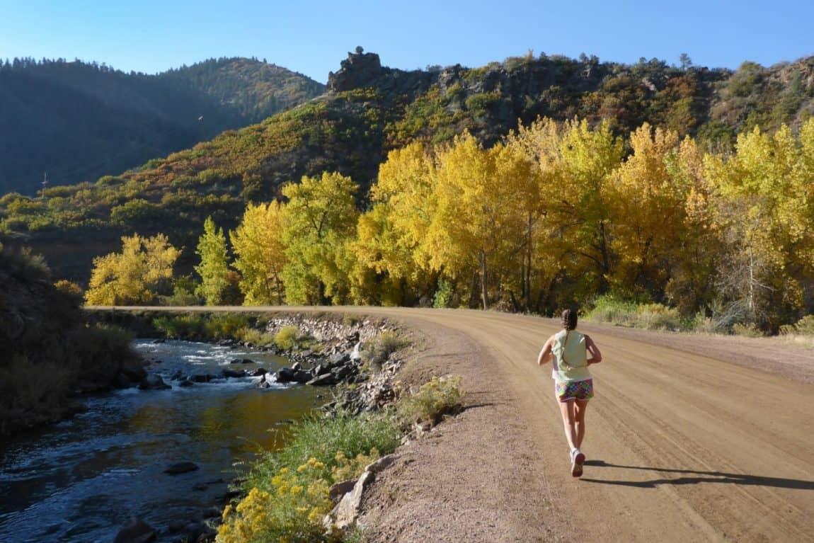 waterton canyon trail hike colorado