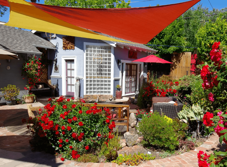zen garden guest home