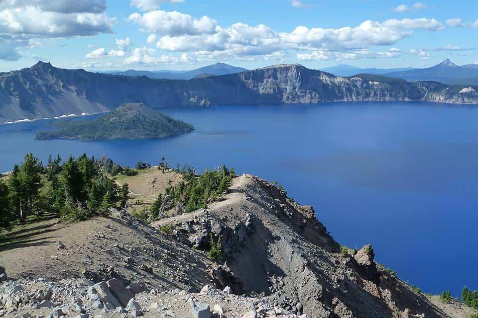 Garfield Peak Crater Lake