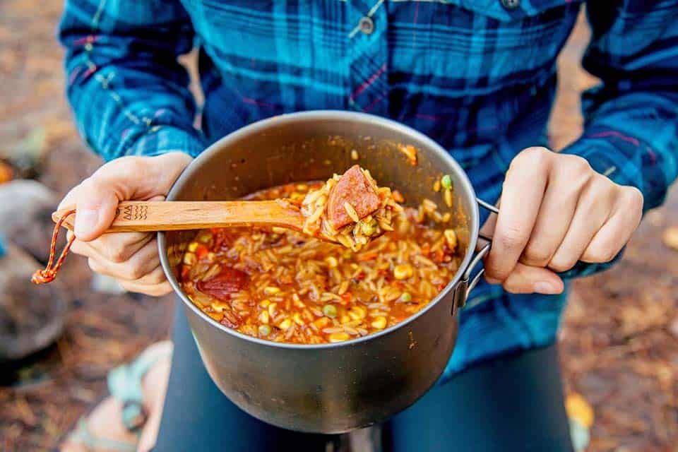 jambalaya camping meal