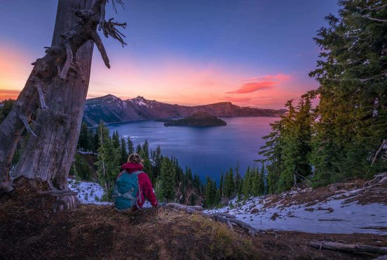 best hikes crater lake oregon