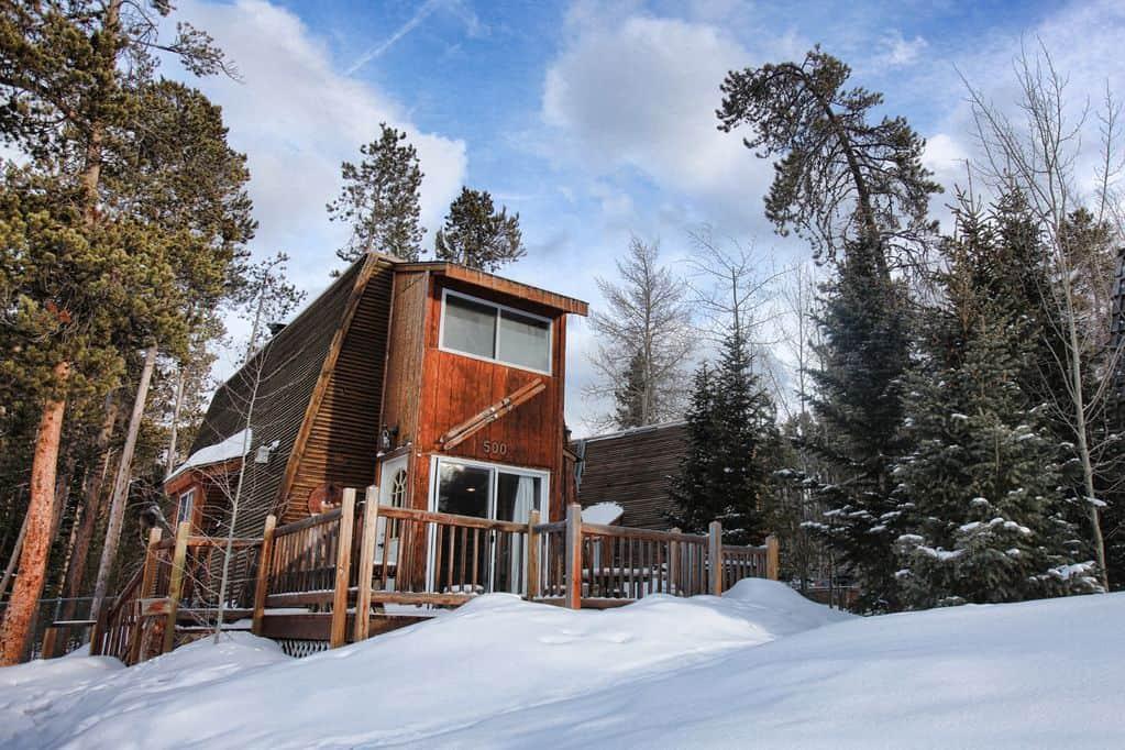 breckenridge a-frame cabin rental