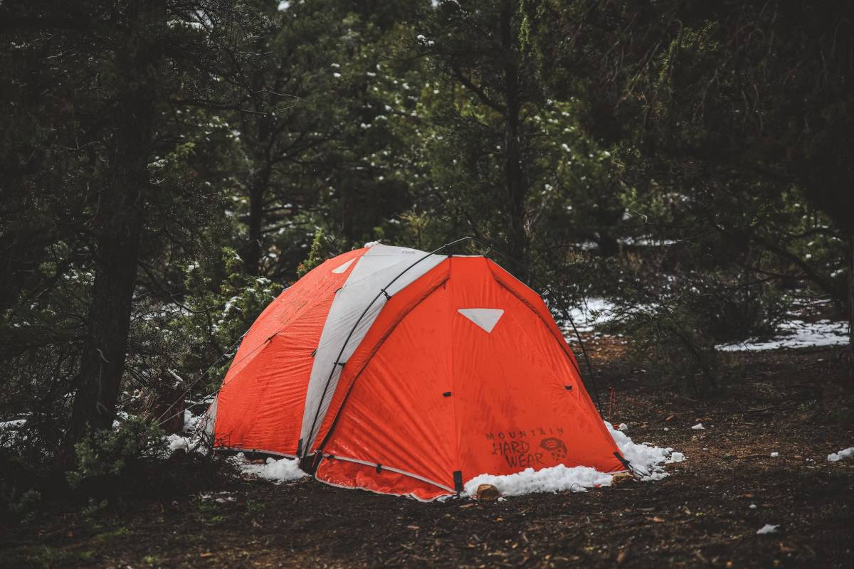 cold weather tent camping