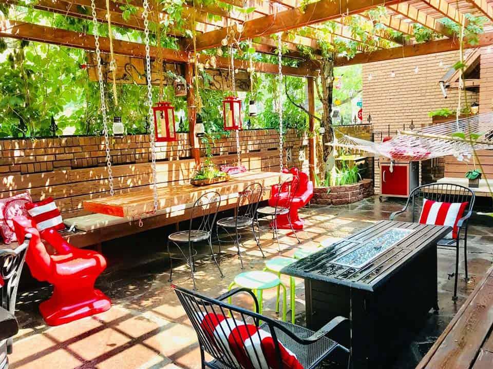 denver airbnb patio