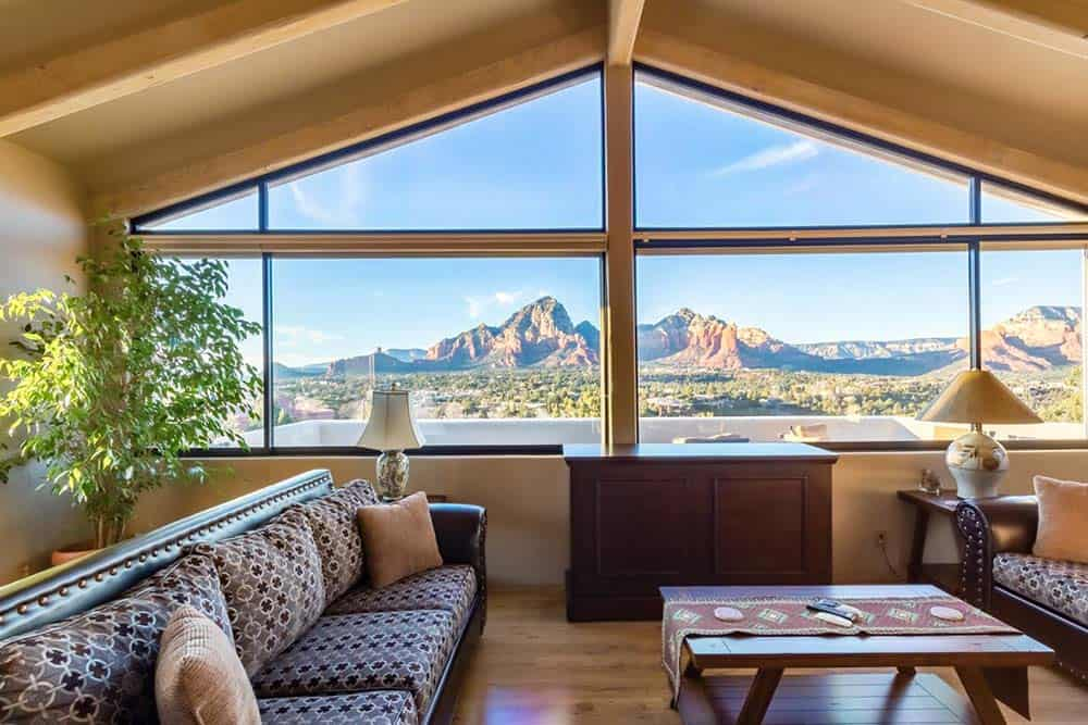 hilltop lounge sedona airbnb