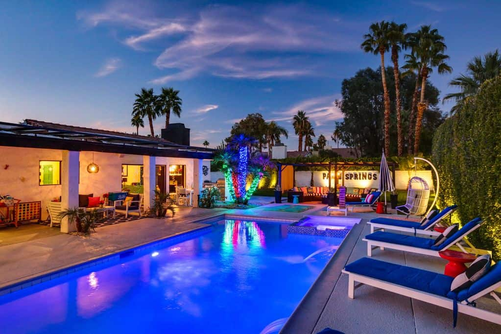 palm springs ranch home