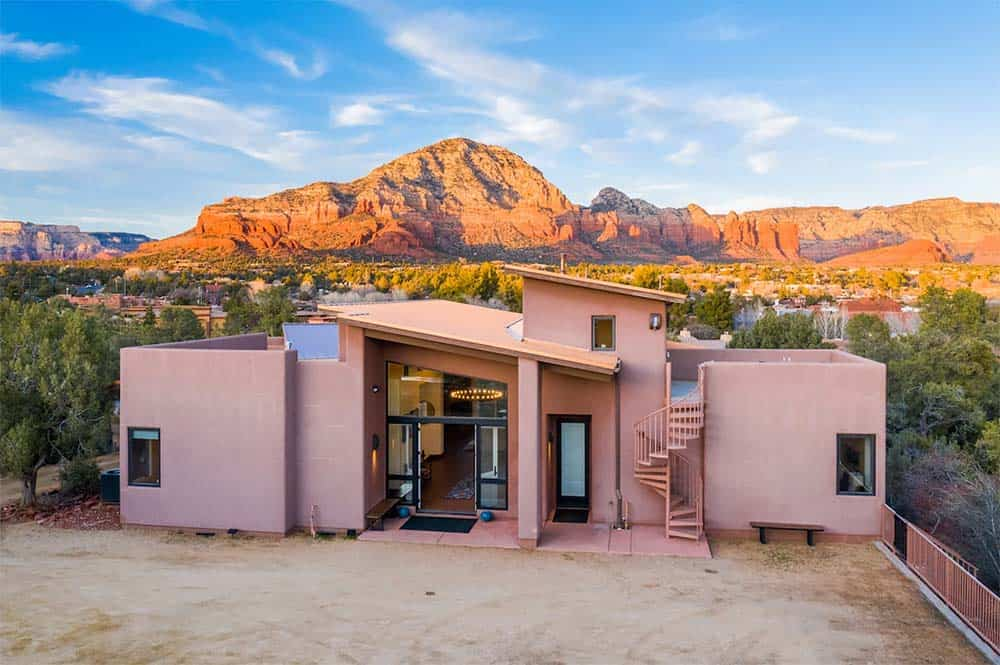 red rock views airbnb sedona