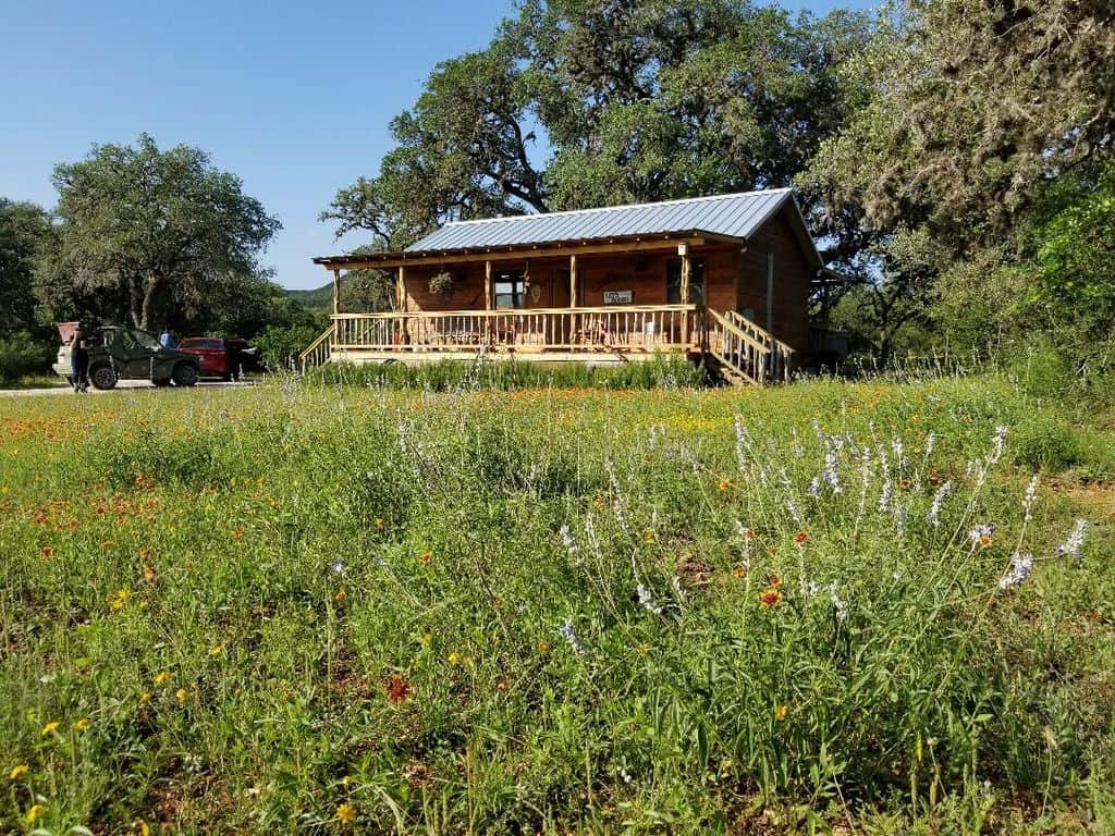texas secluded cabin rental