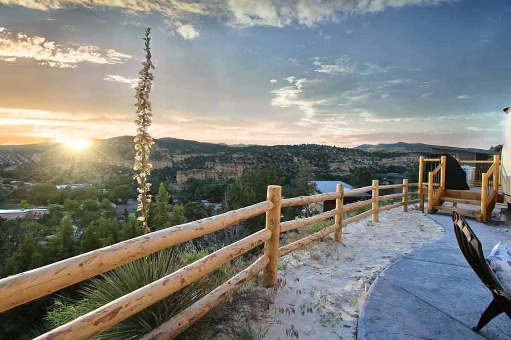 yurt airbnb zion national park