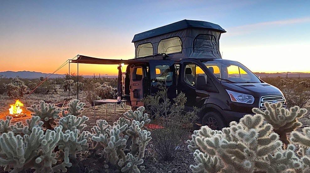 2018 Ford Transit Pop-Up