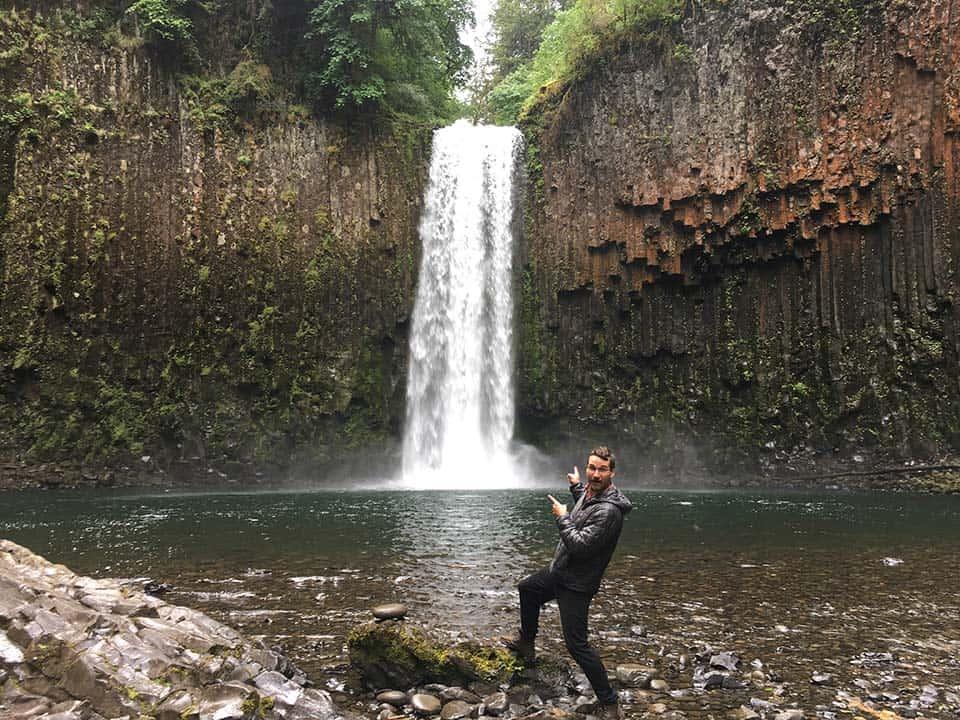 Abiqua Falls Arthur