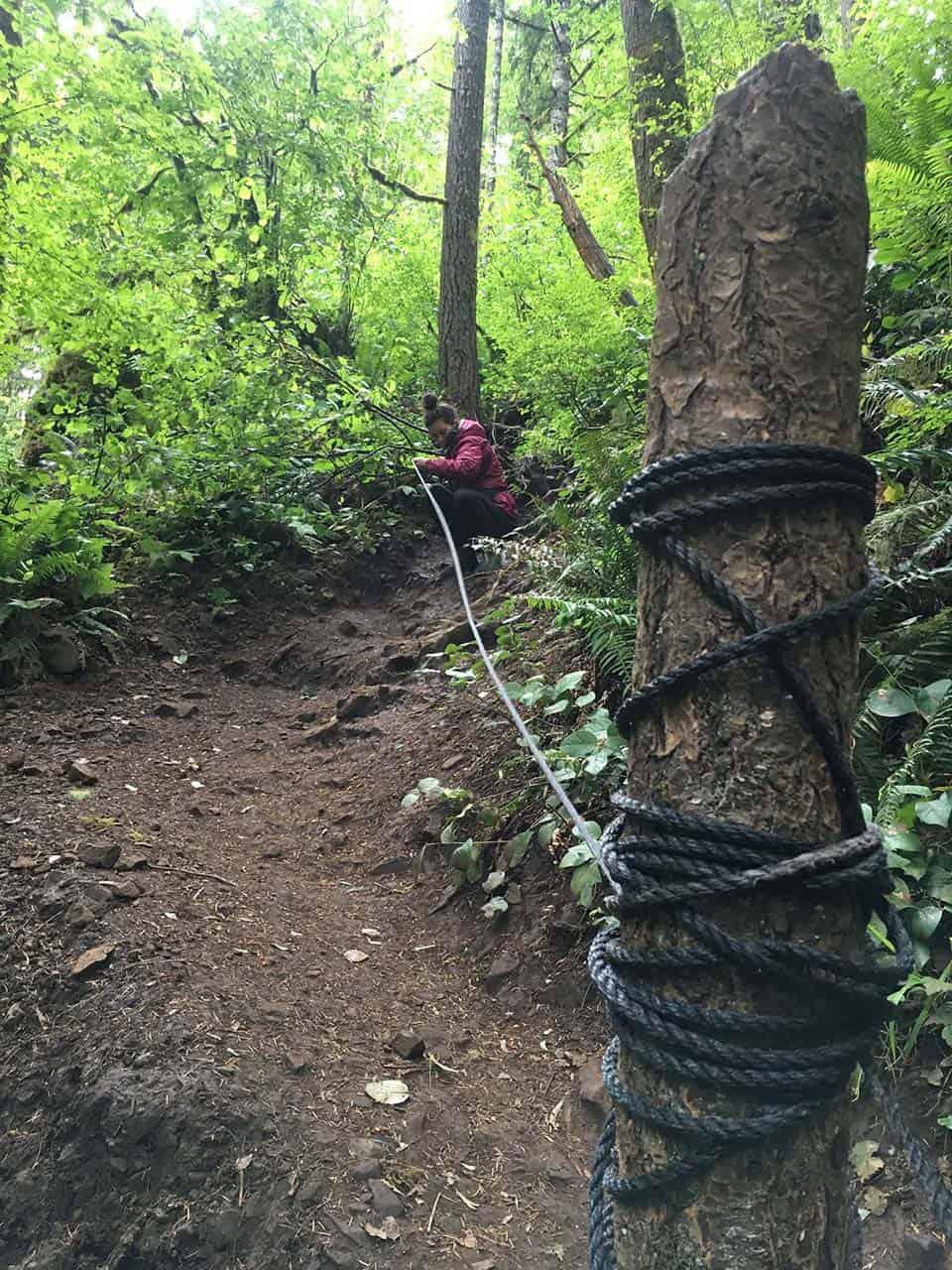 Abiqua Falls Rope Descent