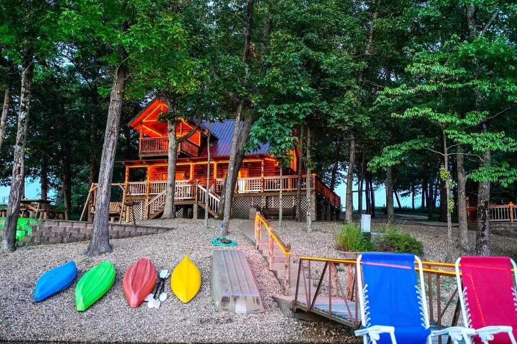 Hix Lake & Cabin