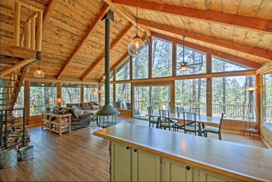 Rustic Prescott Cabin