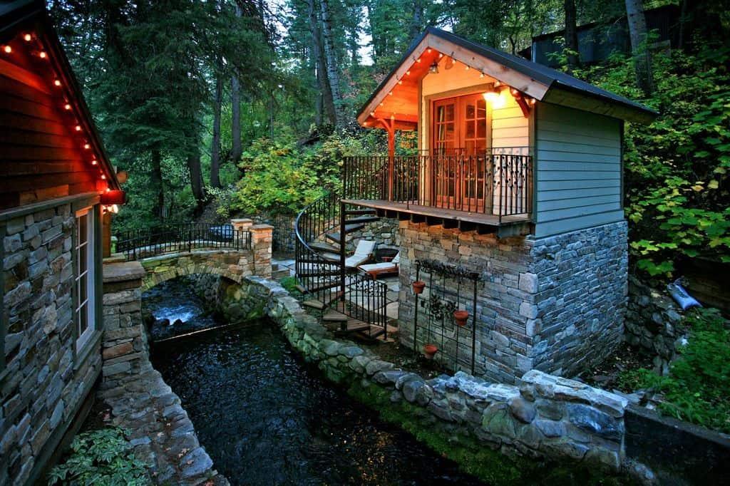 Storybook Stone Cottage